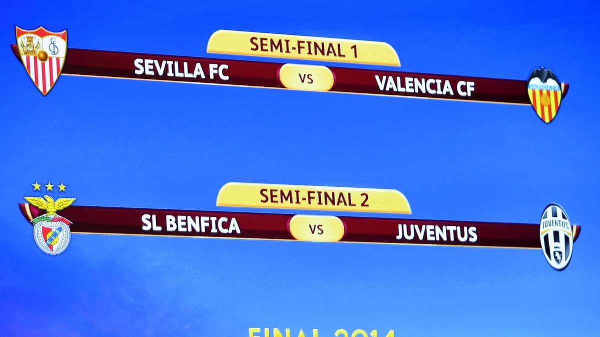 Europa League Halbfinale Auslosung