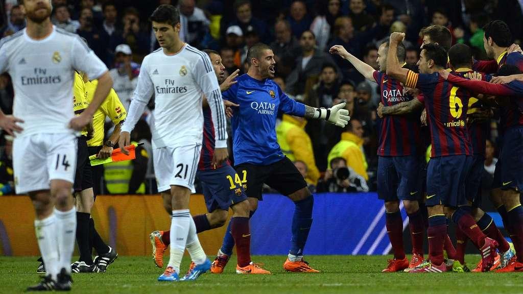madrid barcelona fussball live