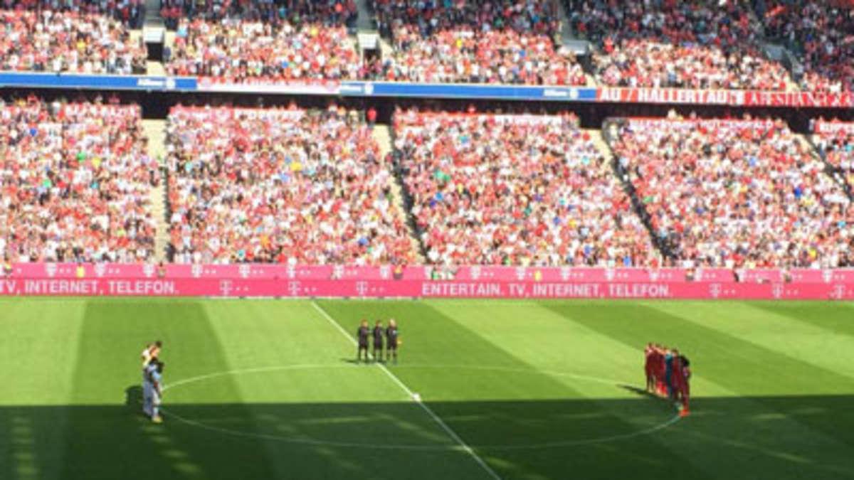 Bayern Bremen Trauerflor
