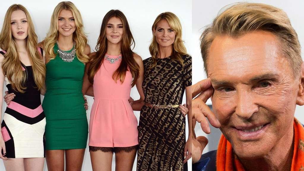 2019 heißer verkauf kommt an 100% Qualität Germany's next Topmodel: Vor GNTM-Finale Wolfgang Joops ...