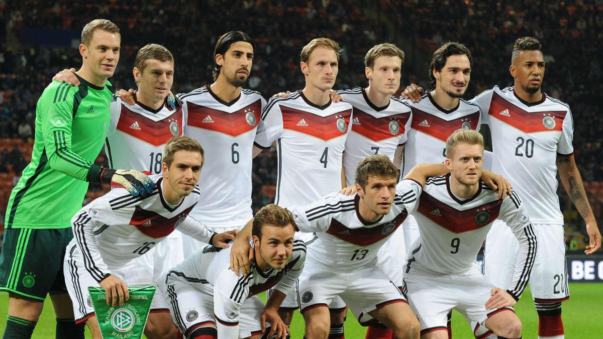 Deutsche Nationalmannschaft Kader