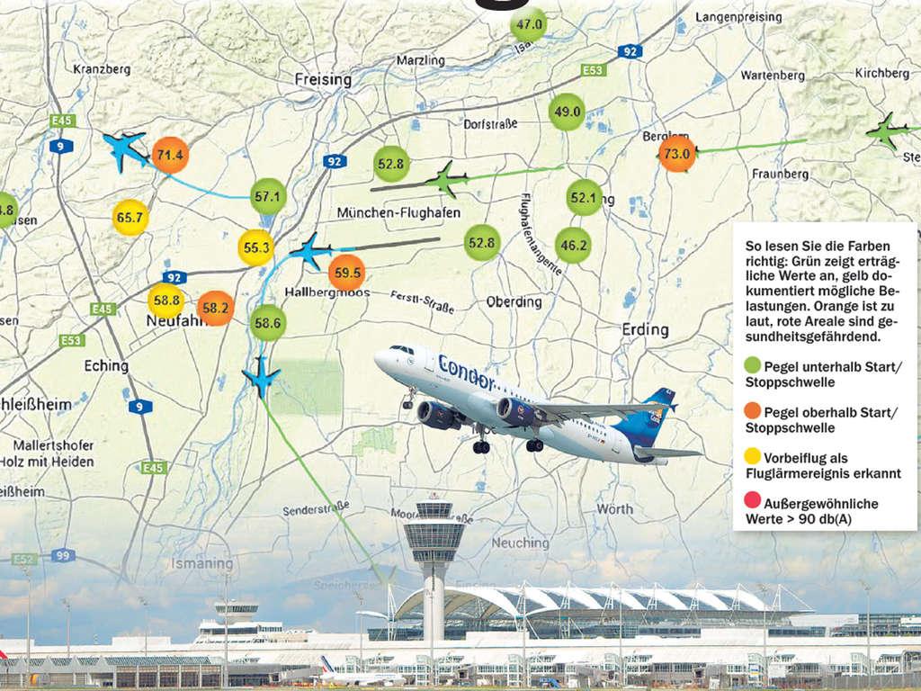 Hier Sehen Sie Wie Laut Der Flughafen Ist Region