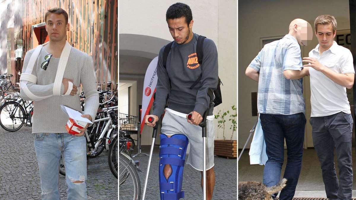 Verletzung Manuel Neuer