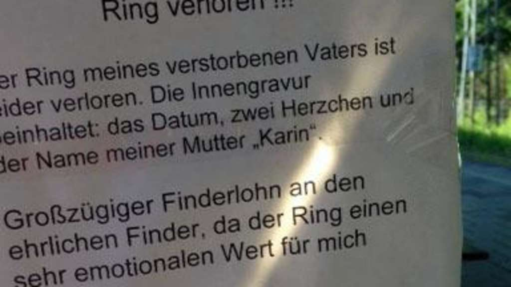 Ring toter Vater