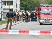 Explosion in Garching