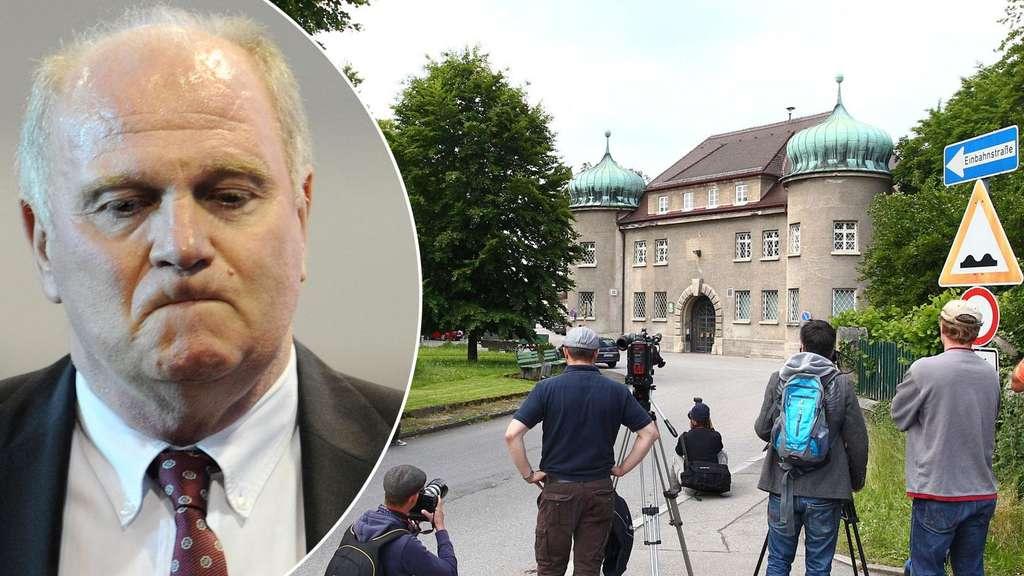 Uli Hoeneß seit heute im Knast: Erist inHaft im GefängnisLandsberg