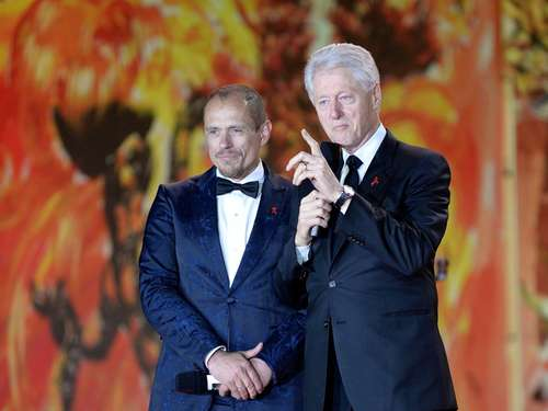 Clinton, Conchita & Co.: Viel Glamour beim Life-Ball