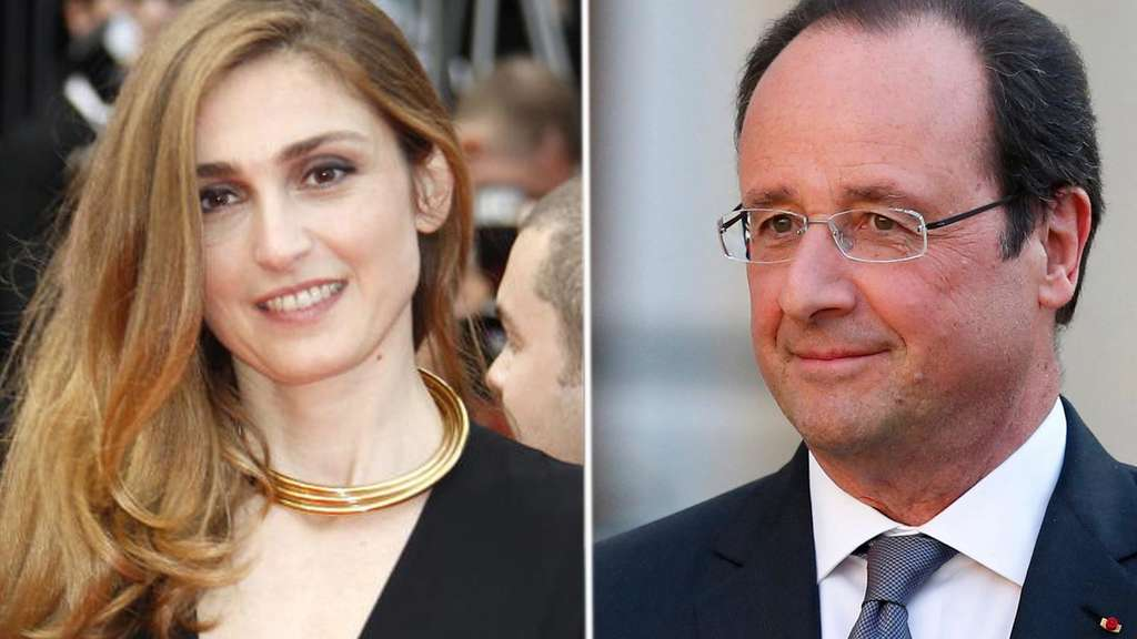 Julie Gayet, Francois Hollande