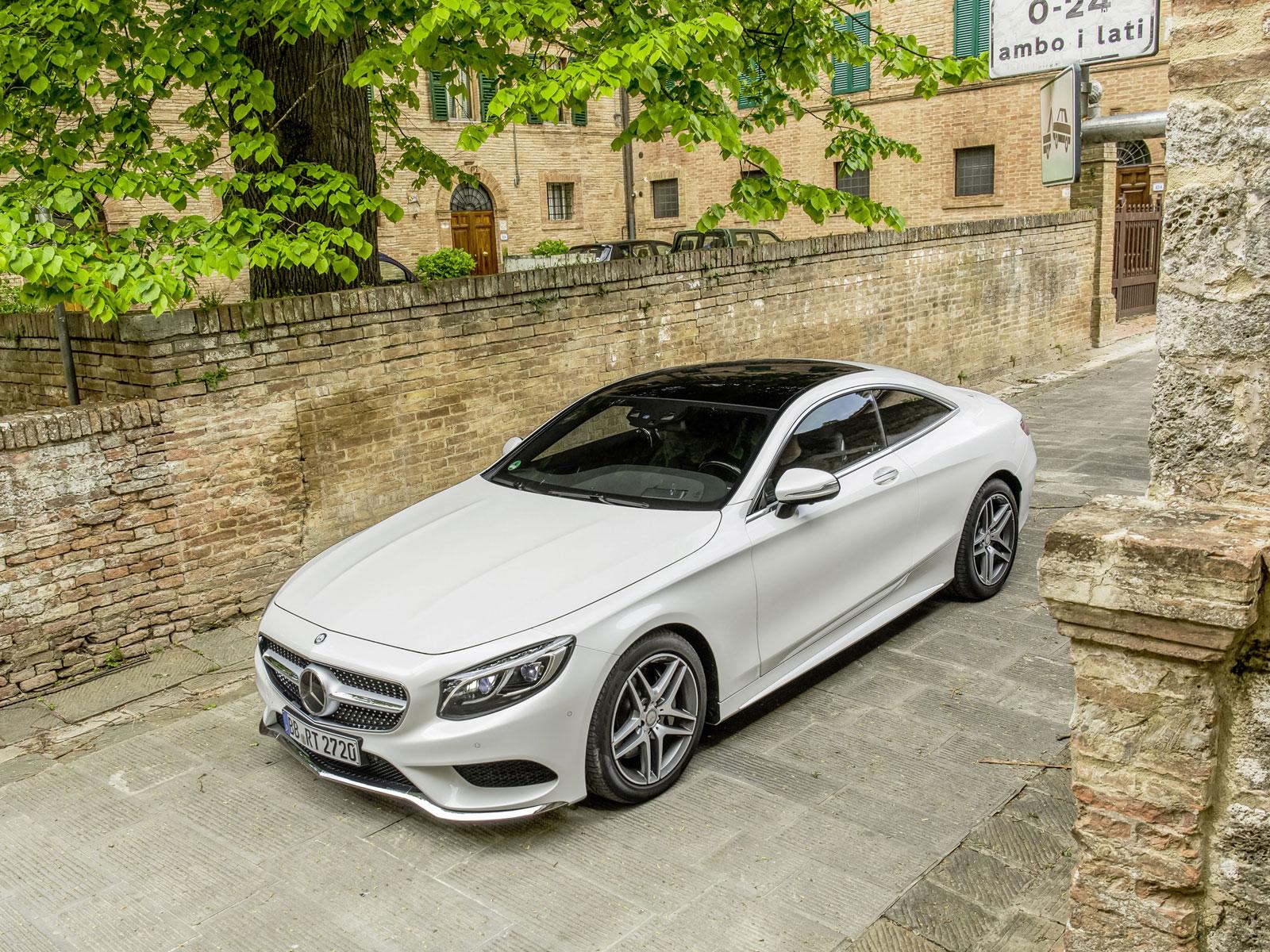 Mercedes S Klasse Coupé AMG und CLS Luxus fensive bei