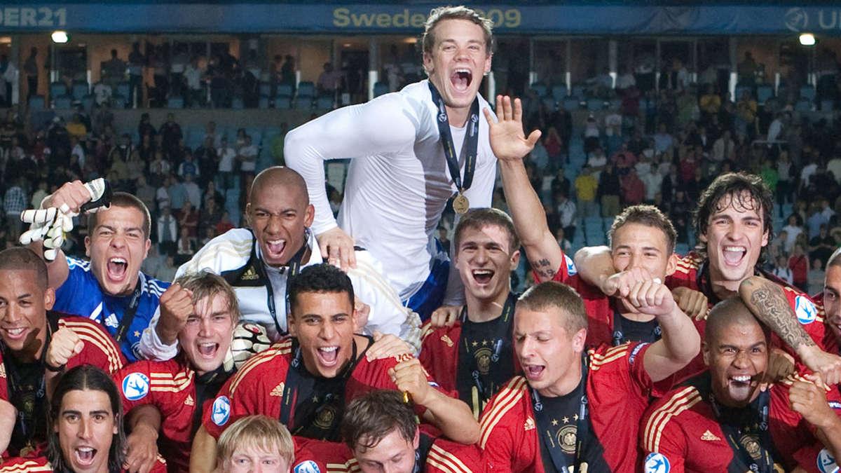 U21 Europameister 2009