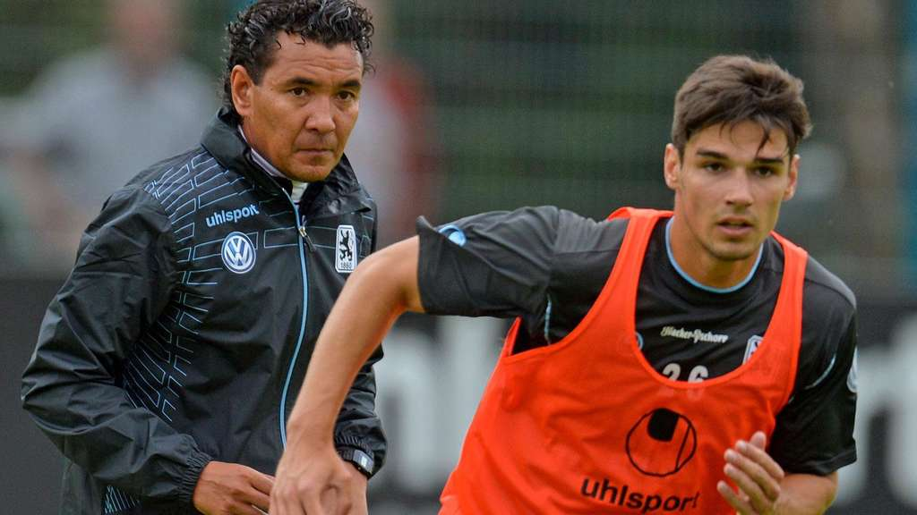 Ricardo Moniz im Training mit Christopher Schindler