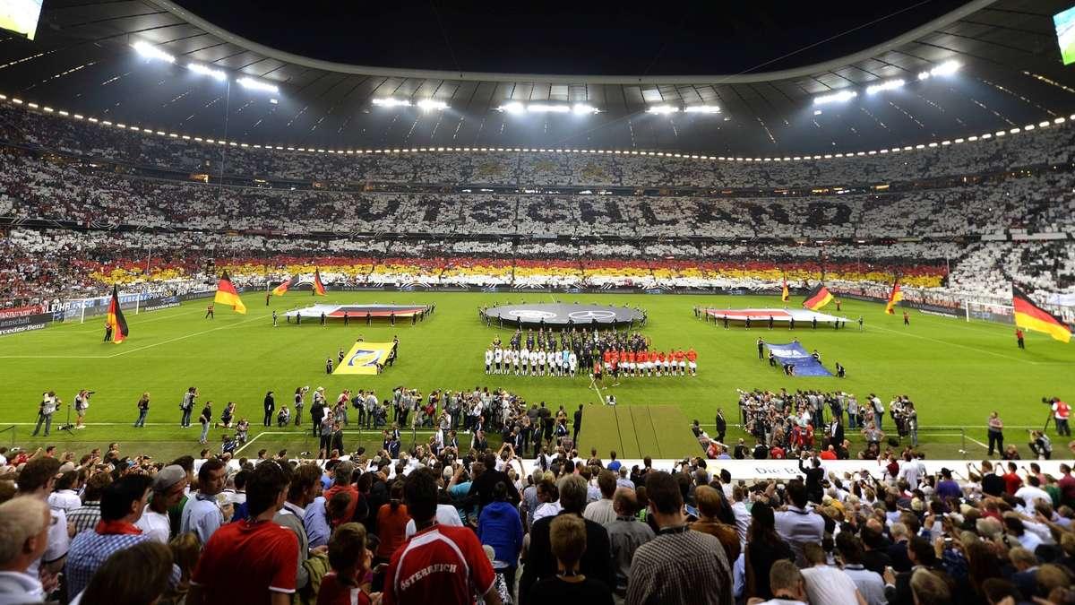 Allianz Arena Ausbau 4. Rang