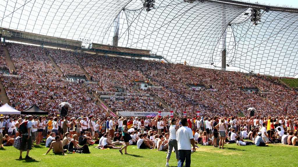 Olympiastadion München, Public Viewing