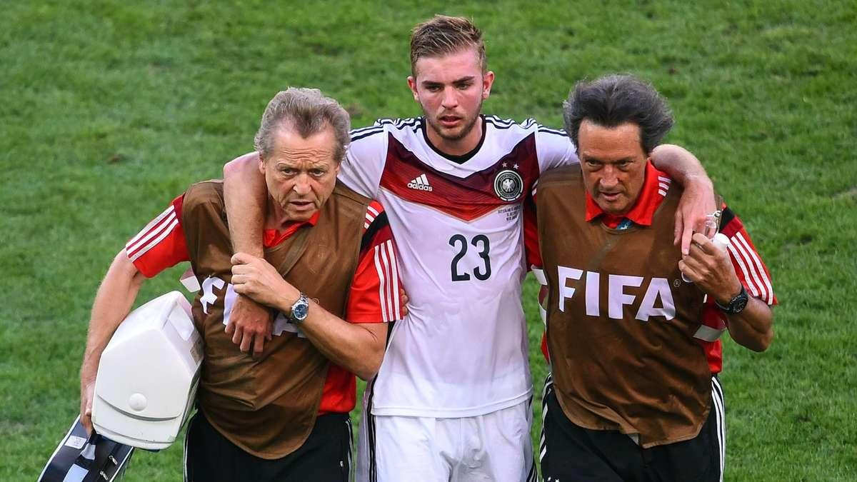 Wm 2014 Finale Christoph Kramer Verletzt Raus Panne