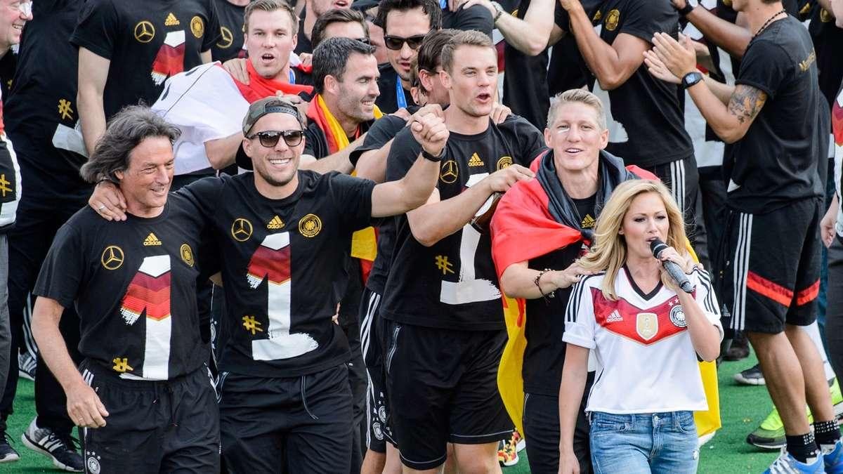 Helene Fischer Fußball