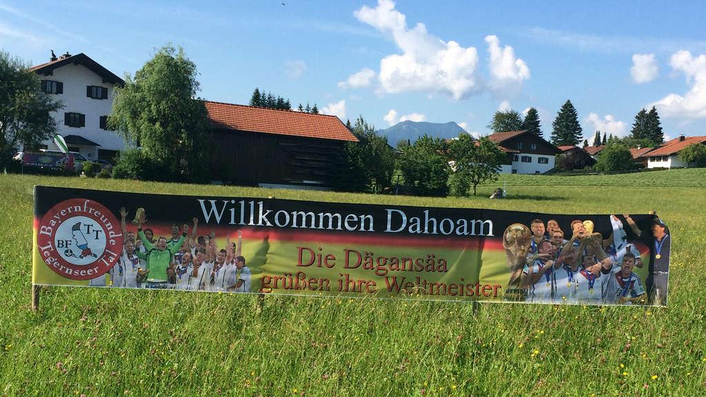Willkommen am Tegernsee für Lahm & Neuer!