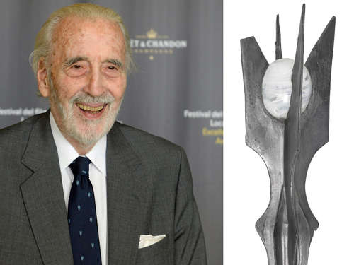 Christopher Lee versteigert Sarumans Stab