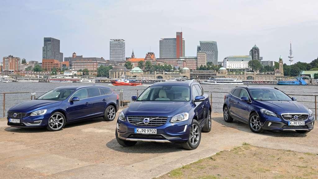 Volvo maritime: die Ocean Race Edition Volvo V40, V40 Cross Country und XC60   Auto