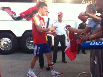 FC Bayern USA Tour Training Lewandowski