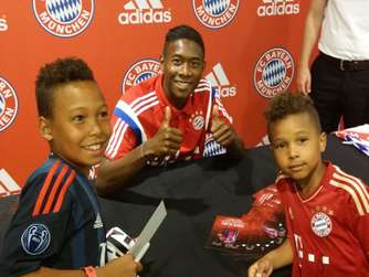 FC Bayern US-Tour David Alaba