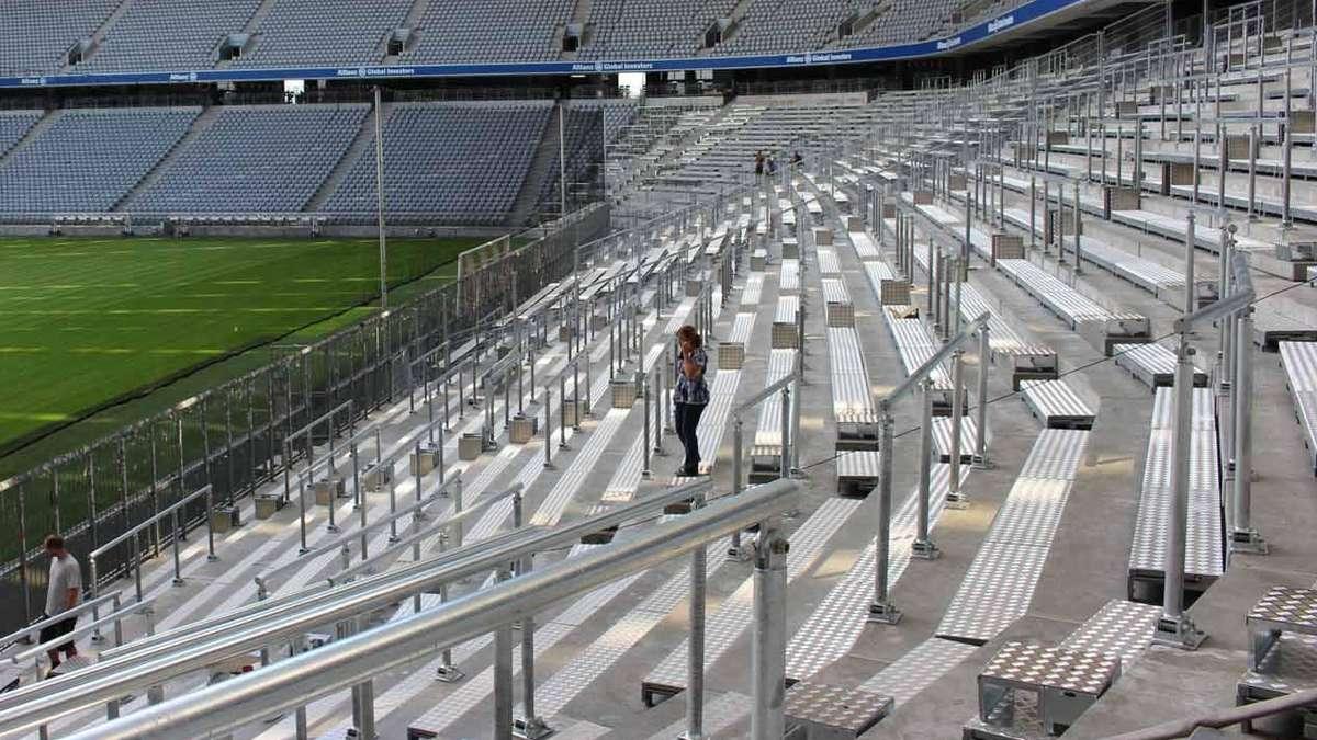 Stehplätze Allianz Arena