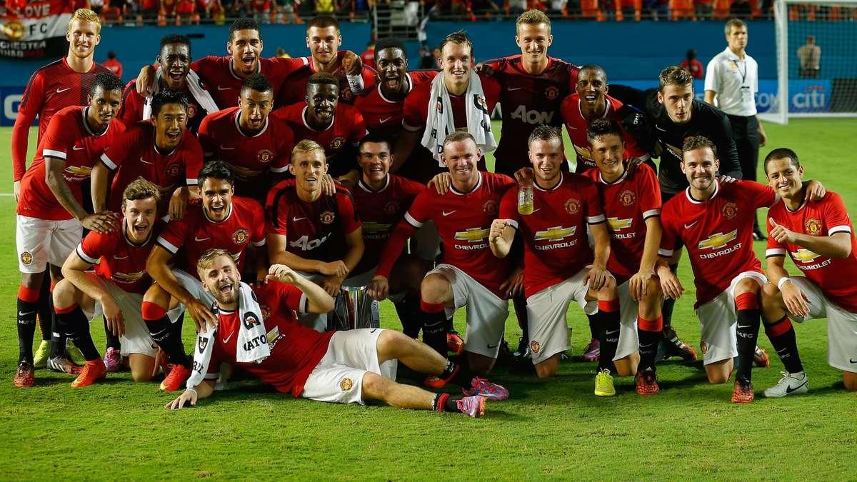 Manchester United Mannschaft
