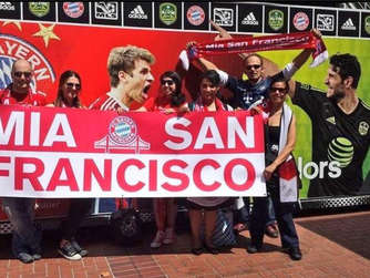 FC Bayern, US-Tour, Fans aus San Francisco