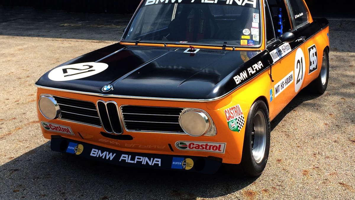 Bmw Alpina 2002 Ti 1970 Rennsportlegende Startet Erneut Auto