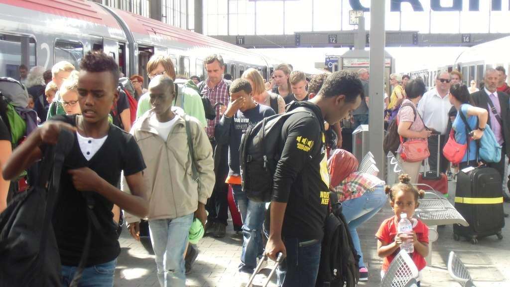 München Flüchtlinge Hauptbahnhof