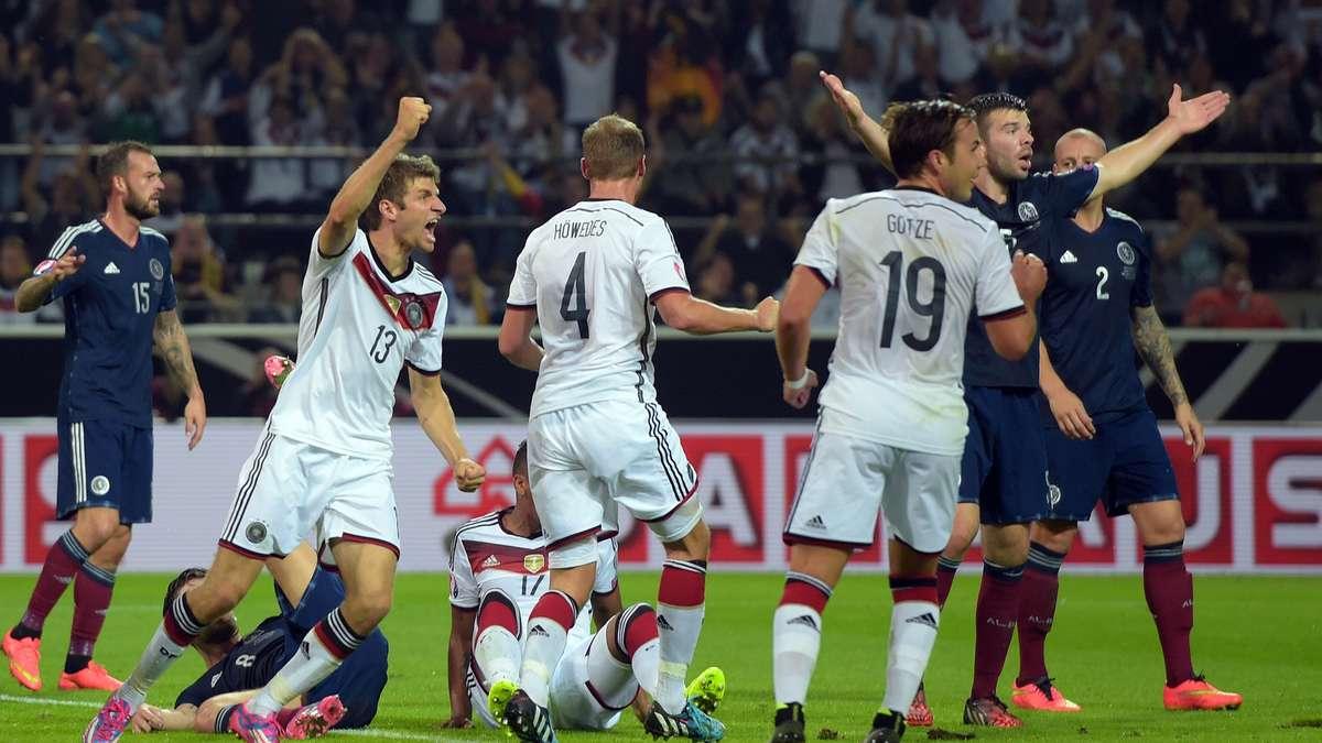 Spiel Deutschland Schottland