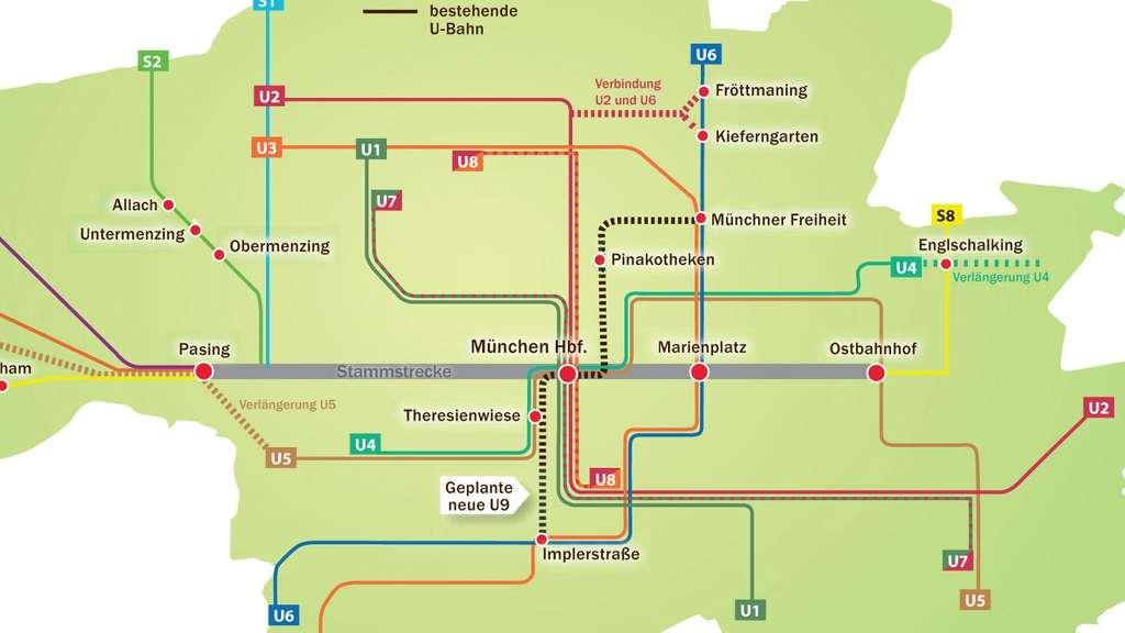 2. S-Bahn-Stammstrecke: Stadt setzt auf U-Bahn | Stadt