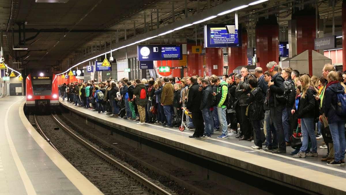 Streik Bahn