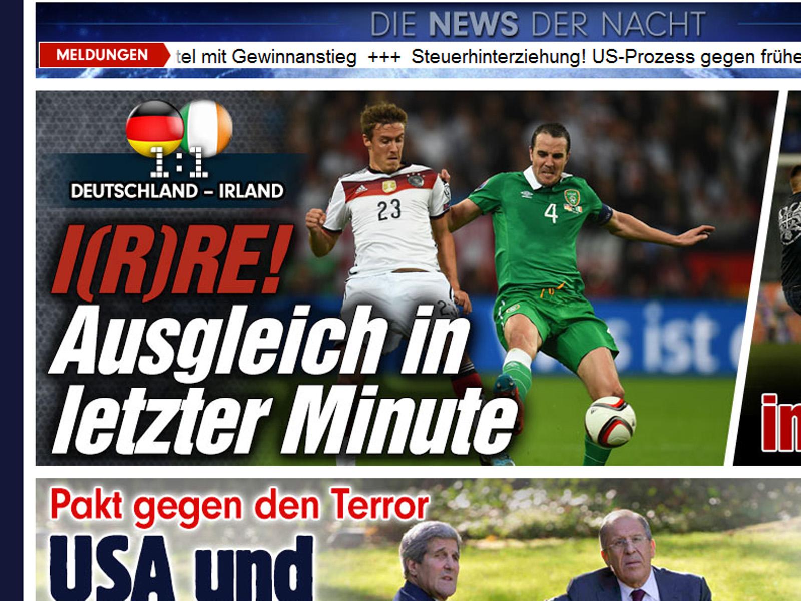 em spiel deutschland irland