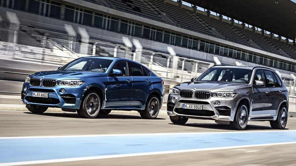 Der Neue Bmw X5 M Und Der Neue Bmw X6 M Mit 575 Ps Auto
