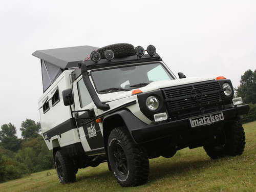 Das Expeditionsmobil: Mercedes G mdx