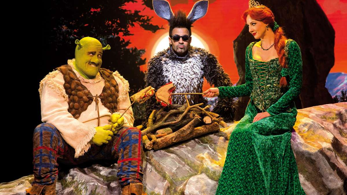 shrek das musical kommt nach m nchen stadt. Black Bedroom Furniture Sets. Home Design Ideas