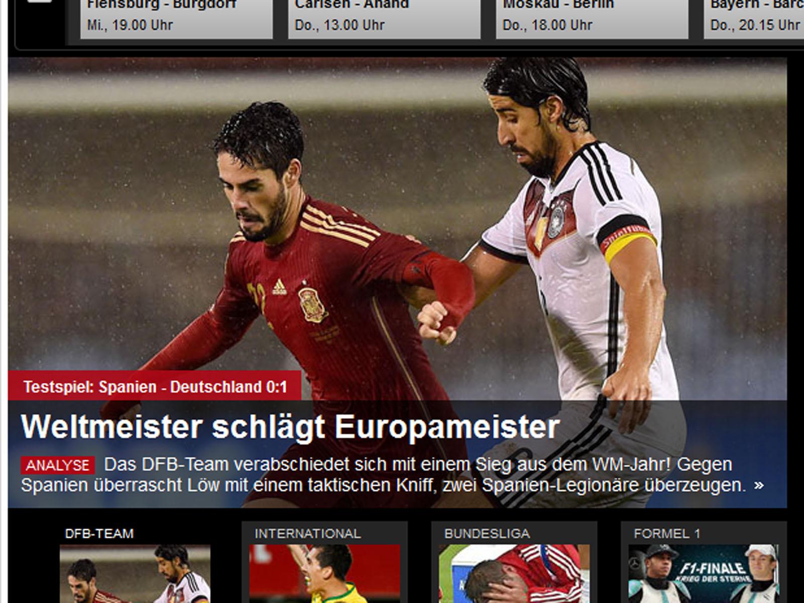 Kroosartig Pressestimmen Zu Spanien Deutschland Fußball