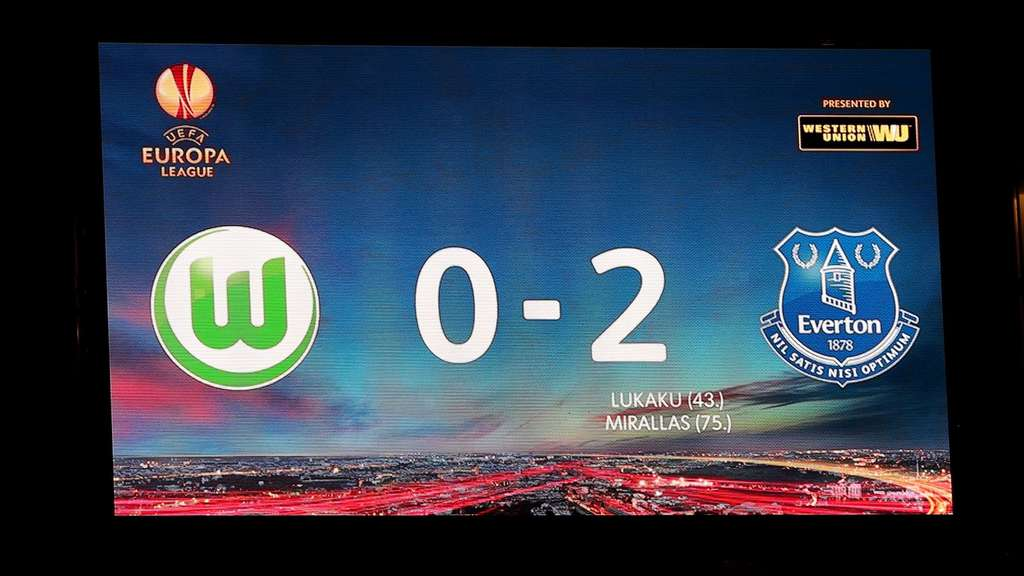Europa League VfL Wolfsburg Everton