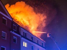 Feuer in Oberndorf am Lech - tz online