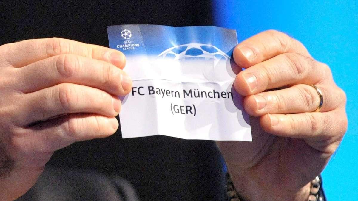 Live-Ticker: Champions League Auslosung, Achtelfinale FC ...