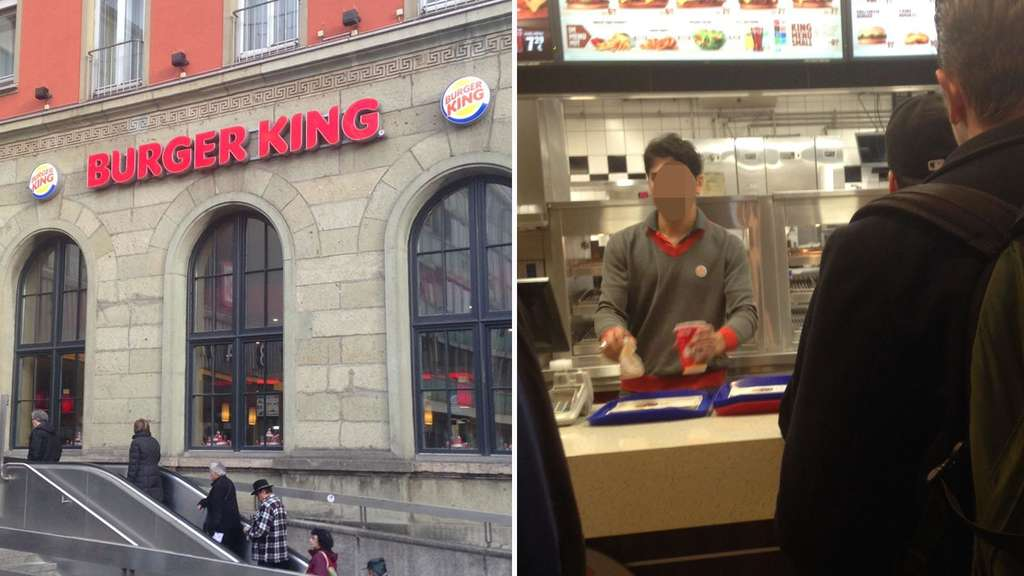 burger king am hauptbahnhof in m nchen ludwigsvorstadt. Black Bedroom Furniture Sets. Home Design Ideas