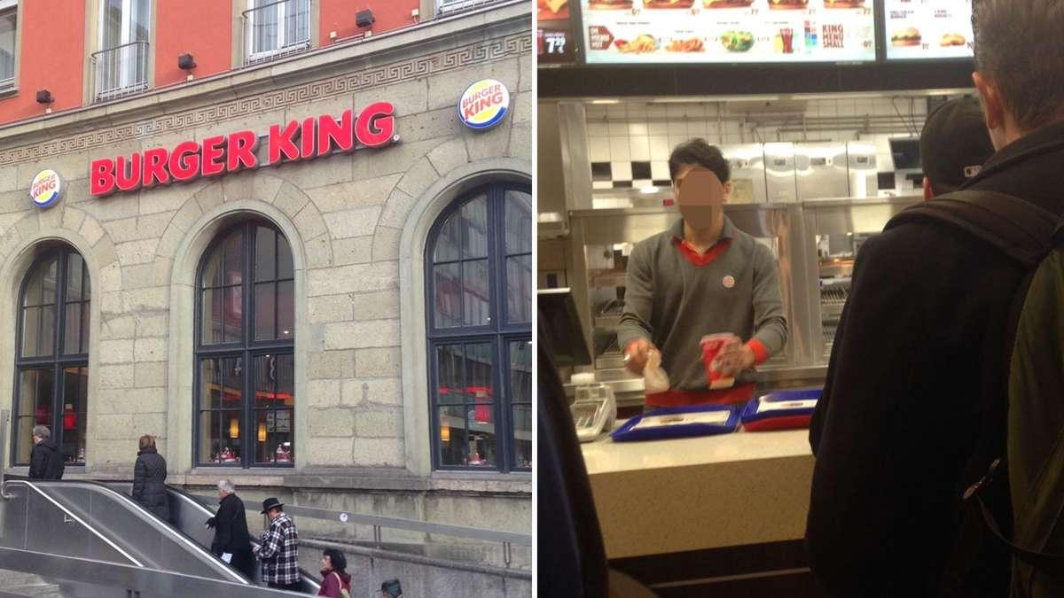 burger king am hauptbahnhof in m nchen ludwigsvorstadt isarvorstadt. Black Bedroom Furniture Sets. Home Design Ideas