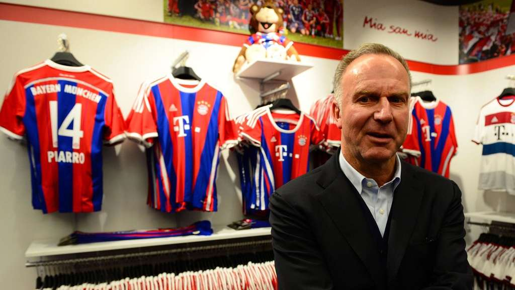 FC Bayern Rummenigge Marketing Reise China