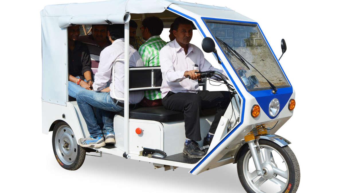 terra motors baut elektro rikscha f r indien auto. Black Bedroom Furniture Sets. Home Design Ideas