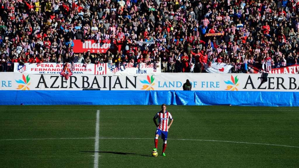 """40 000 bejubeln """"El Niño"""" Torres   Fußball"""