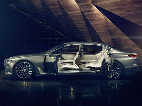 Edle Wuchtbrumme: BMW Vision Future Luxury