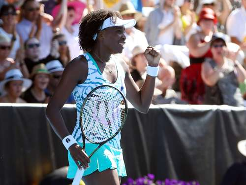 Venus Williams siegt in Auckland