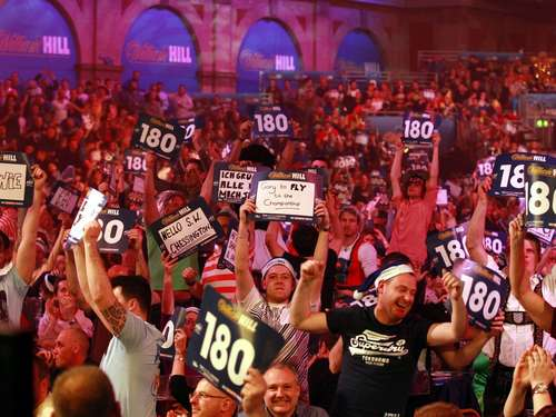 Ausschreitungen bei Darts-Turnier in Down Under