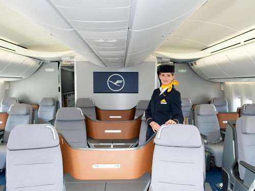 Glücksfall? Upgrade in die Business Class