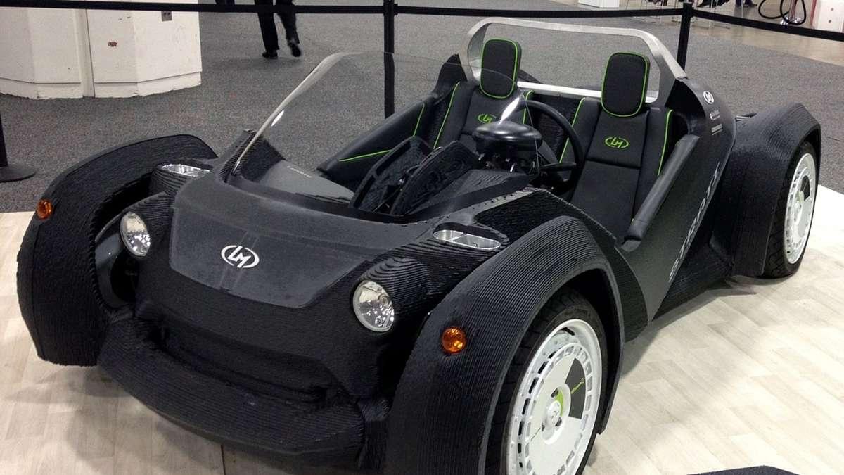 Autos aus dem 3D-Drucker - Ist das die Zukunft? | Auto